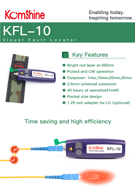 KFL-10 Visual Fault Locator (Mini type)