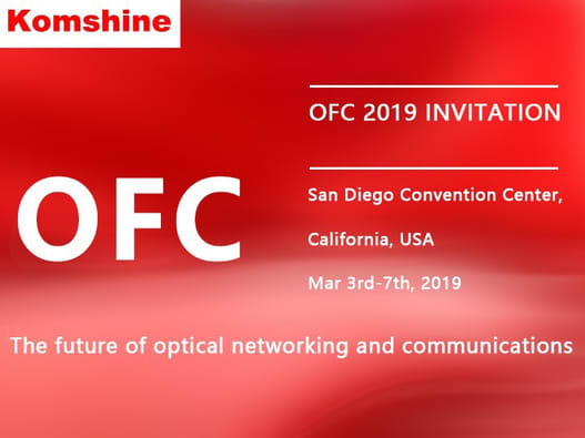 Komshine OFC 2019 Invitation