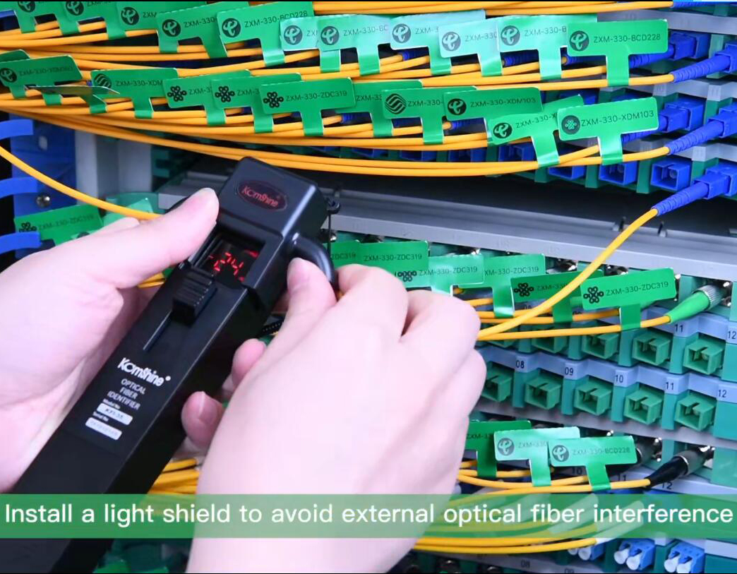 New KFI-35 Optical Fiber Identifier operation video