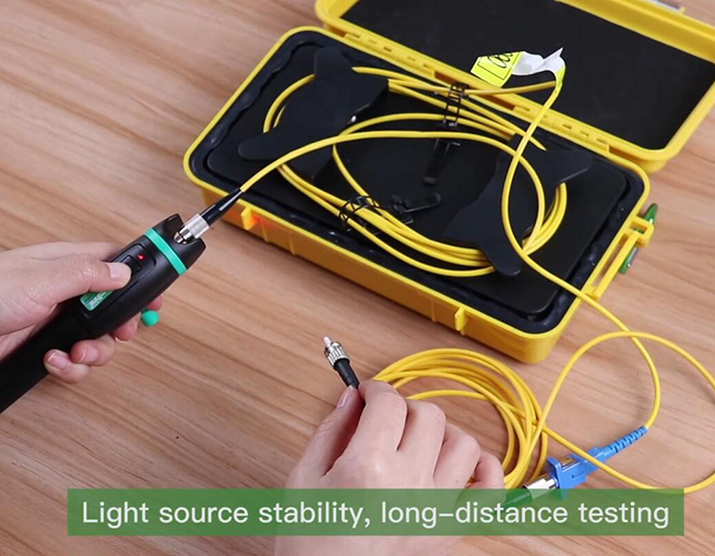 KFL-11P Optical Fiber Identifier operation video