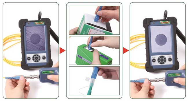How to effectively clean the optical fiber end face